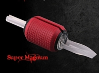 "1.5"" Grip - Super Magnum Clear Disposable Tube (Single Tube)"