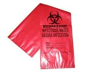 Biohazard Bags 33 gallon 10 pack