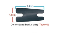 Carbon Steel Tapered Back Spring