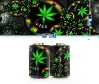 Marijuana Coil Stickers
