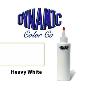 Dynamic heavy white 1oz for Dynamic black tattoo ink review
