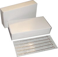 7 Round Liner #12 Standard Premade Sterilized Tattoo Needles - BOX OF 50