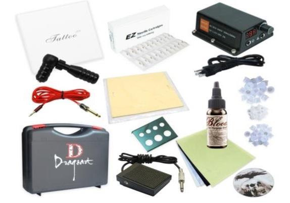Rotary Cartridge Machine Tattoo Starter Kit