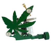 Green Leaf Tattoo Machine