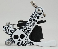 Skull Tattoo Machine