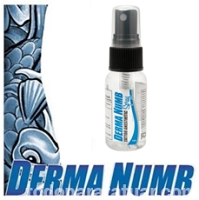 Derma Numb Fast Acting Spray 1oz