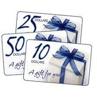 Gift Certificate - In store only