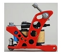 Red PCW Series Tattoo Machine
