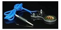 Mini Stainless Steel Foot Pedal with Silicone Cord