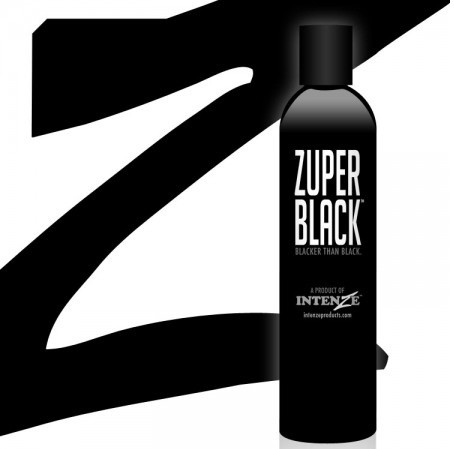 Intenze zuper black ink 12oz for Zuper black tattoo ink intenze