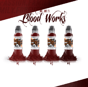 Big Joel's Blood Works Color Set
