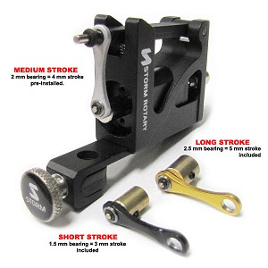 Friction Black Storm A100 Adjustable Rotary Machine